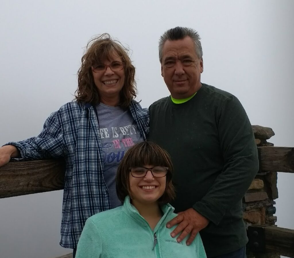 Phil, Paula, and Hannah Fulks