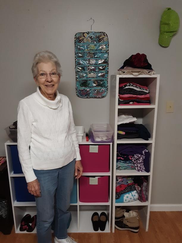 Sally Artis, Clothing Closet